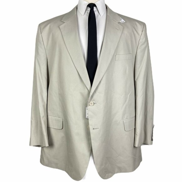 Jos. A. Bank Other - NEW Jos A Bank Spring Weight Sport Coat 52R Khaki